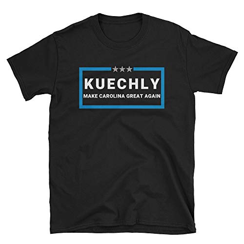 LiberTee Kuechly Make Carolina Great Again Tshirt for Men and Women, Funny 2019 Football Shirt for Carolina Fans -