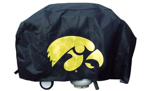NCAA Iowa Hawkeyes Vinyl Padded Deluxe Grill Cover