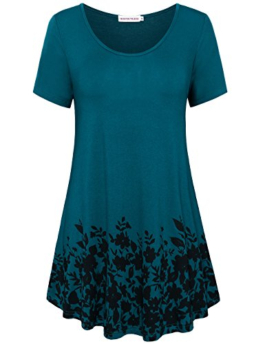 MOOSUNGEEK Womens Tops and Blouses, Goth Clothing For Women On Sale B&G L