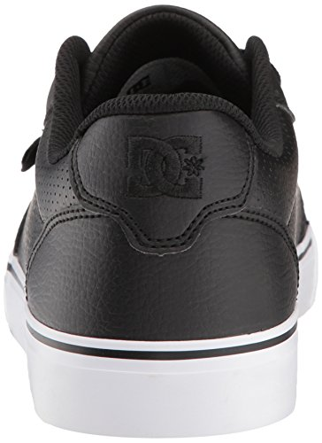 DC Men's Anvil SE Skate Shoe, Black, 13 D US