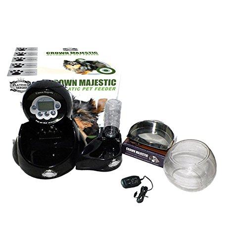 Crown-Majestic-Platinum-Series-Dog-and-Cat-Automatic-Pet-Feeder