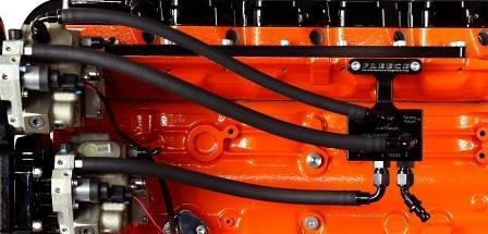 Fuel Distribution Block - Fleece Performance Engineering FPE-FFD-RF-HF-KIT-3G Fuel Distribution Block Hose and Fitting Kit (03-07 Dodge 5.9L Cummins)