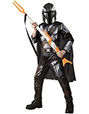 Rubie's pojkväska Rubie's Official Disney Star Wars The Mandalorian Kids Costume, Childs Fancy Dress Maskeraddräkt