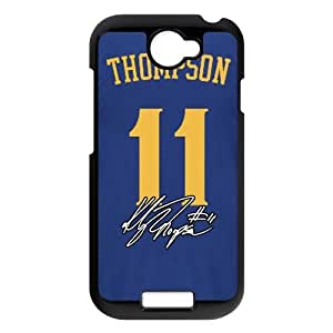 High quality and inexpensive,cheap and fine phonecaseFor black plastic HTC ONE S case with Basketball All-Star # 11 Klay Thompson Pattern at Run horse store
