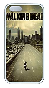iPhone 5S Case and Cover The Walking Dead TPU Silicone Rubber Case Cover for iPhone 5 and iPhone 5s White by Maris's Diaryby Maris's Diary