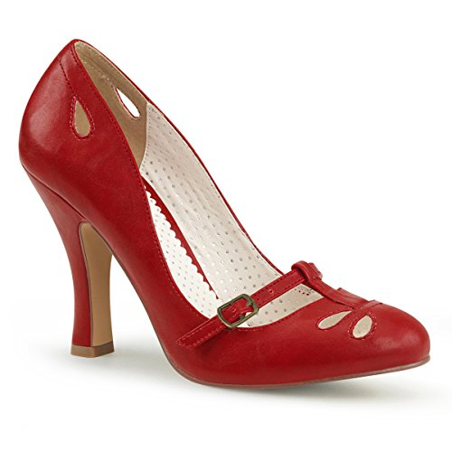 Pin Up Couture Donne Smitt20 Pompa Vestito / Rpu Rosso