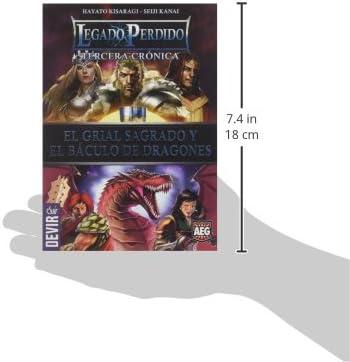 Devir - Legado perdido 2, la Espada vorpal y el chapitel de Electro (BGLEG2): Amazon.es: Juguetes y juegos