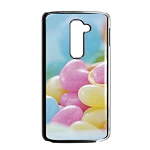 ZK-SXH - Colored candy Diy Cell Phone Case for LG G2, Colored candy Personalized Phone Case