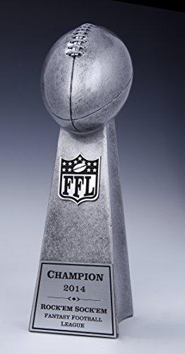 Fantasy Football Trophy Lombardi Style Award SMALL 9 1/2