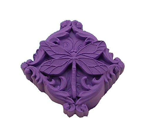 - Longzang Dragonfly Art Silicone Craft DIY Handmade Soap Molds (S002)