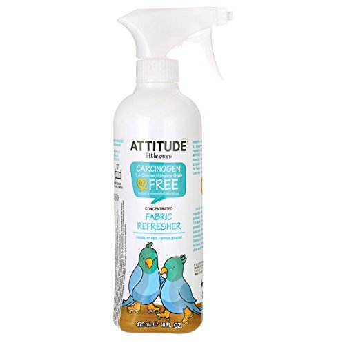 ATTITUDE Fabric Refresher, Fragrance Free, 16 Fluid Ounce