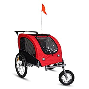 kinbor new pet dog bike stroller bicycle. Black Bedroom Furniture Sets. Home Design Ideas