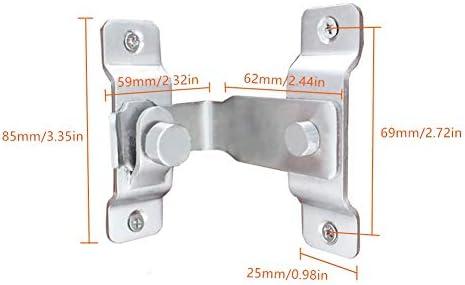 Tiberham - Cerrojo de seguridad para puerta de gabinete de puerta corredera de 90 grados (85 x 75 x 50 cm): Amazon.es: Bricolaje y herramientas