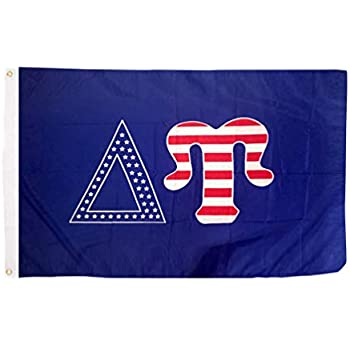 Delta Upsilon US Flag Style Licensed Greek Life Garage Hangar Basement Flag 3x5