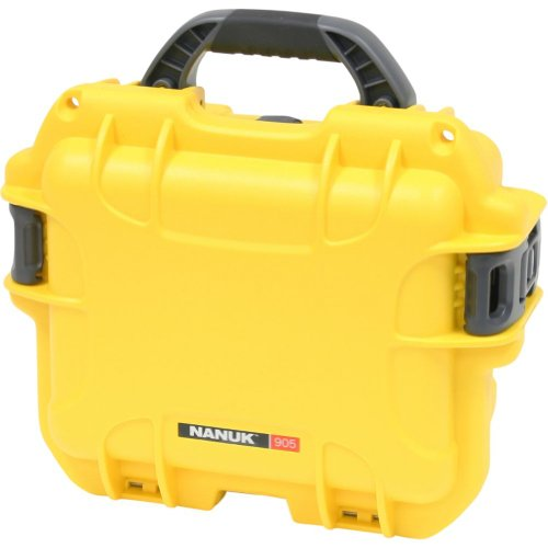 Nanuk 905 Case with Padded Divider (Yellow)