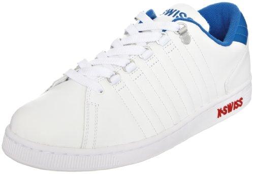 KSWISS Men's Lozan Fashion Trainer White/Classic Blue/Red XSgpXF