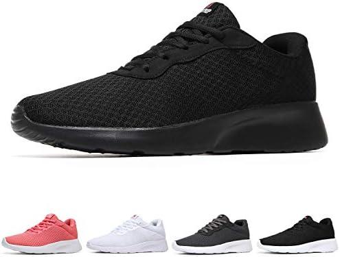 US7, Black Gym Running Shoes Women for Exercising