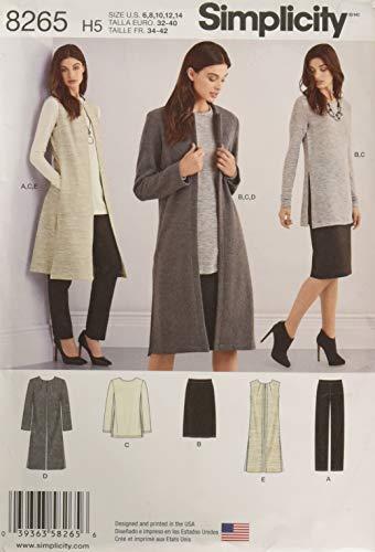 Simplicity 8265 Women's Pants