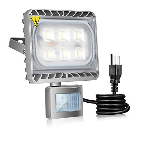 Outdoor Plugin Motion Sensor Light in US - 5