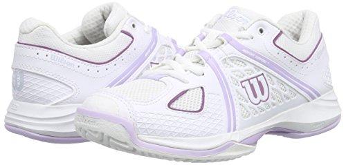 Mehrfarbig De Violet Woman white Nvision Ice Wilson White Tennis Baskets Multicolore Femme wqZS0vxntv