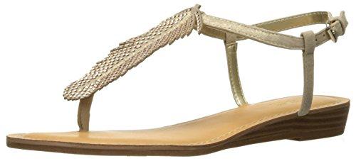 Carlos by Carlos Santana Women's Tenor Flat Sandal, Kork, 8 Medium US (Carlos Santana Ankle Strap Sandals)