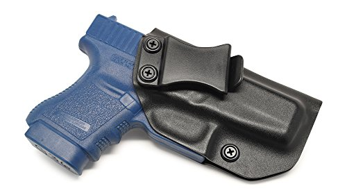 Concealment Express IWB KYDEX Holster: fits Glock 36 (Non-Rail) - Custom Fit - US Made - Inside Waistband - Adj. Cant/Retention (BLK, Right)