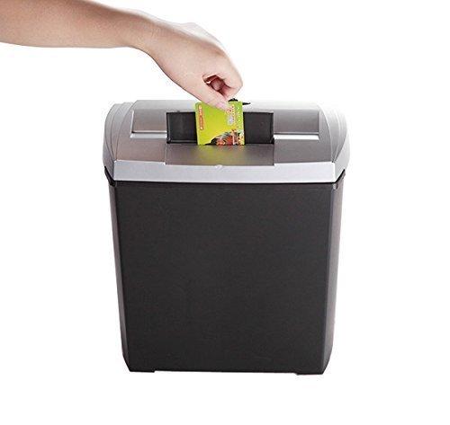 Bonsaii DocShred S170 8-Sheet Strip-Cut CD/Credit Card/Paper Shredder, Overload and Thermal Protection, 3.4 Gallon Wastebasket Capacity