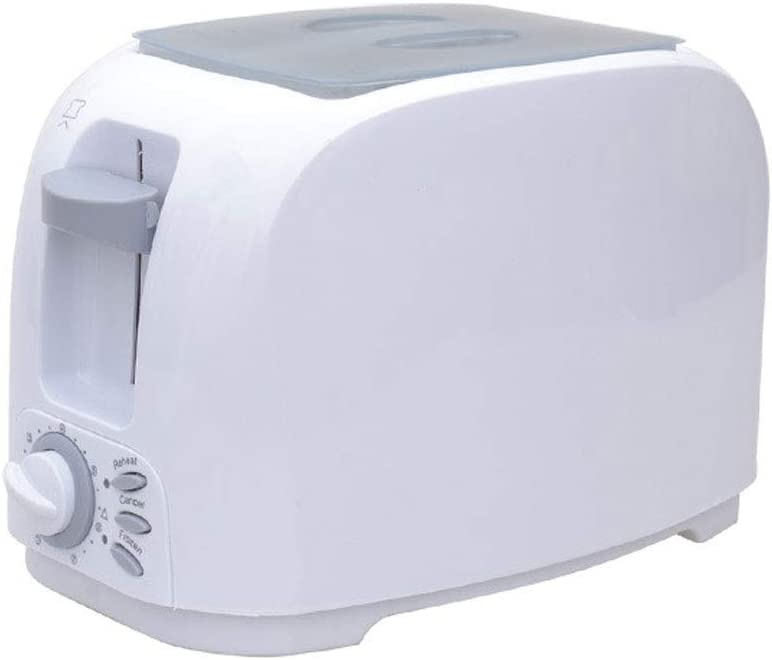 Toaster,Stainless steel automatic toaster   2 long slots   1000W   7 adjustable   defrosting function   heat pastry + removable chip tray  