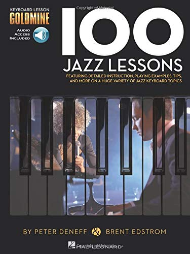 - 100 Jazz Lessons: Keyboard Lesson Goldmine Series Book/Online Audio