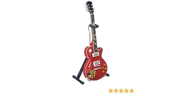 Guitarra Miniatura les paul snakepit Slash guns N Roses: Amazon ...