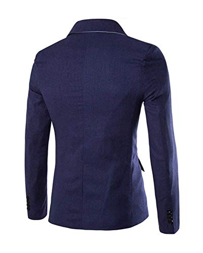 Abiti Giacca Taglie Hx Comode Slim Sportiva Fit One Da Marine Button Classica Corta Leisure Casual Fashion Uomo gqRxwqZ5