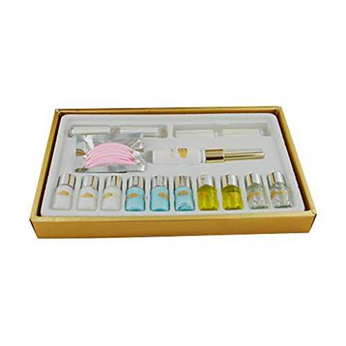 Ktyssp Eyelash Perming Kit Lash Lifting Curling Set Pad Cilia Lift Perm Rod Glue Beauty ()