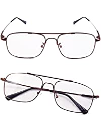 Aviator Full-flex Memory Titanium Optical Eyeglasses Frame
