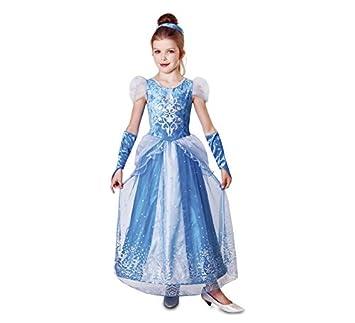 VIVING - Disfraz princesa del hielo3-4 años: Amazon.es: Juguetes y ...