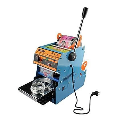 cgoldenwall wy-806 a comercial eléctrico taza máquina de sellado mano prensa burbuja Boba té
