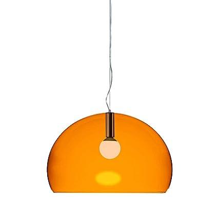Amazon.de: Kartell FL/Y Lampe PMMA E27, Orange 13 x 33 x 13 cm
