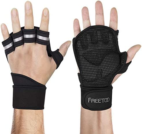 Buy Freetoo Mens Workout Gloves With Wrist Support Weight Lifting