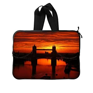 Bridge Of London England Twin Sides Laptop Sleeve / Laptop Bag / Laptop Cover / Laptop Sleeve Macbook Air For MacBook Pro 15