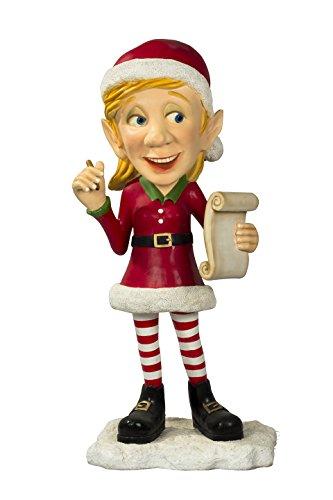 Queens of Christmas WL-ELF-MA Decorative Elf Family Mother Figurine -