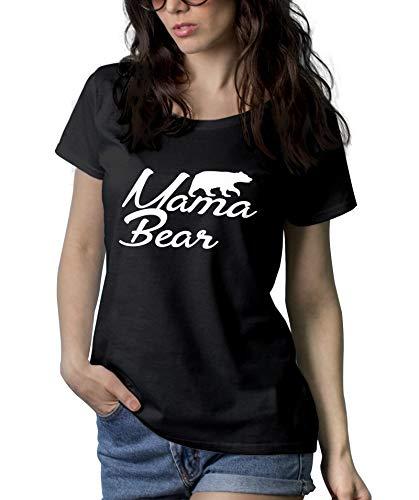 Mama Bear Shirts - Wonder Adult Ladies Graphic Tees for Women