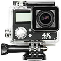 DirtCam X29 sports action camera WiFi 4K video 16MP image with dual screens, waterproof case, remote, 2 batteries, 16GB memory, travel case, microfiber & accessories! Bonus dual battery charger!