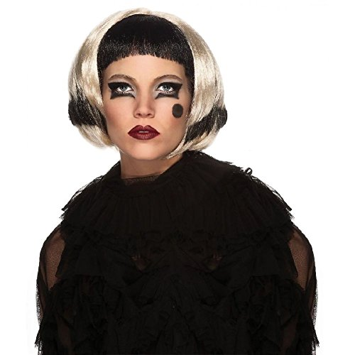 Lady Gaga Wig Adult Pop Star Diva Costume Fancy (Lady Gaga Skeleton Costumes)