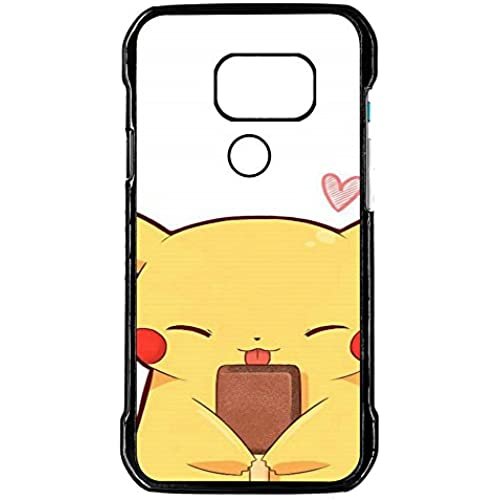 Galaxy S7 Active Case,Tigua Pokemon Pikachu Premium Slim Fit Flexible Hard PC Case for Samsung Galaxy S7 Active (2016),Not for S7,S7 Edge-Black Sales