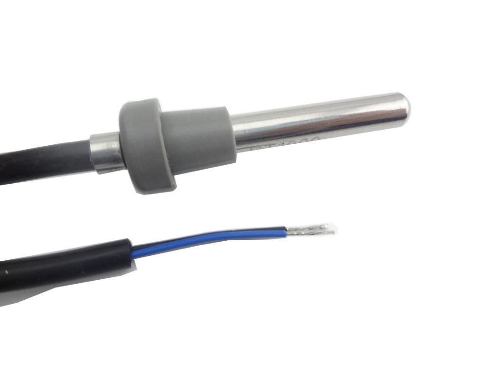cable PVC MISOL 1 unit of Temperature Sensor pt1000 for Solar Water Heater PVC cable 1,5 metros 1.5 meters//Temperatura Pt1000 Sensor para calentador de agua solar