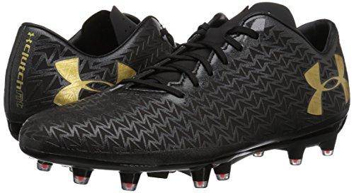 Under Armour Rugby Corespeed Fg - black / phoenix fire / metallic gold, Größe #:7.5