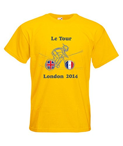 tama Tour Tower en universal 360 London The o 2014 amarillo Xxl camiseta ciclismo S of 0qwd7E7
