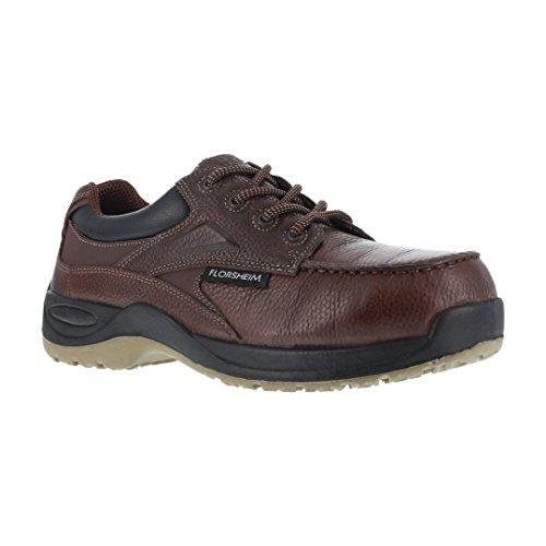 Florsheim Work Men's Rambler Creek FS2700 Work Shoe, Brown, 9 3E US by Florsheim
