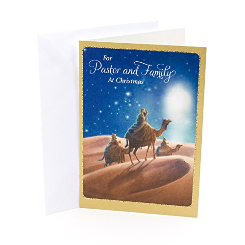 (DaySpring Religious Christmas Card for Pastor and Family (Three Wise Men))