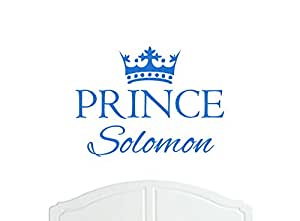 Amazon com: Crown Prince Solomon Large Wall Sticker / Vinyl