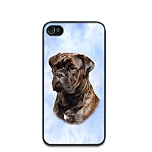 Bullmastiff Dog Hard Case Clip on Back Cover for iphone 4 4s